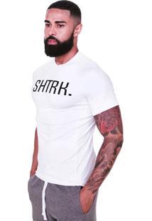 Camiseta Compressão Shatark Shtrk Branco