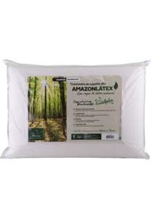 Travesseiro Amazon Látex De Poliuretano Com Capa Eucaliptos Em Viscose : Médio 11Cm 4247