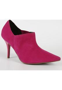 Bota Feminina Ankle Boot Nobuck Beira Rio