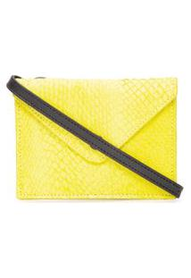 Bolsa Feminina Mini Envelope Bag Limited - Amarelo