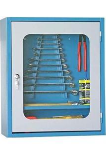 Armário Para Ferramentas Com 1 Prateleira E Porta Com Visor De Vidro - Ar-5 - Marcon