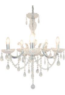 Lustre Premier Iluminação Maria Tereza Cristal
