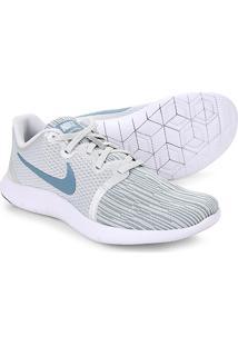 Tênis Nike Flex Contact 2 Feminino - Feminino-Branco+Azul Petróleo b3f7c682e302e