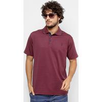 Camisa Polo Aleatory Diferenciada Jacquard Masculina - Masculino 58c8cd612f9c7