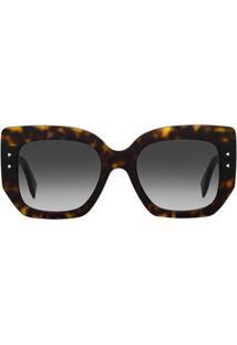 Fendi Óculos De Sol F Is Fendi - Marrom