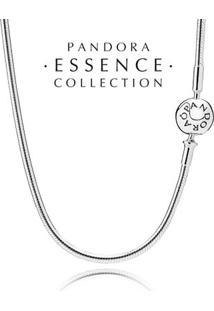 Colar Essence Collection De Prata De Lei