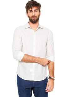 Camisa Handbook Reta Furlan Off-White