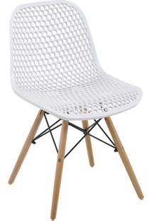 Cadeira Eloisa Branca Rivatti Móveis