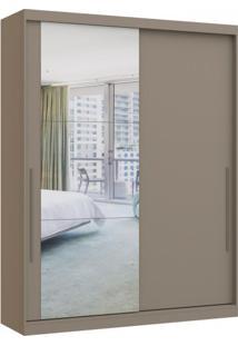 Guarda Roupa Premium Castro 2 Portas 1 Espelho