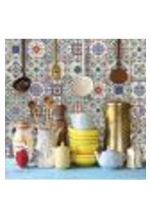 Adesivo De Azulejo Colorido 15X15 Para Cozinha Vila Velha 36Un