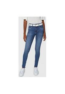 Calça Jeans Lez A Lez Skinny High Azul