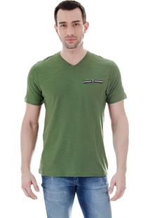 Camiseta Masculina Ocean Bay - Verde Escuro