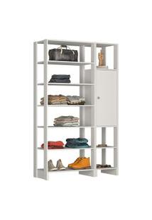 Estante Closet Nova Mobile Ey103 Yes 1 Porta E 9 Nichos