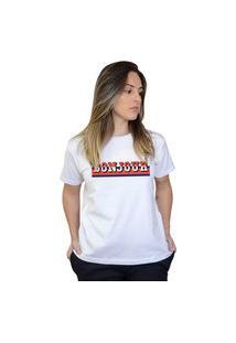 Camiseta Boutique Judith Bonjour Branco