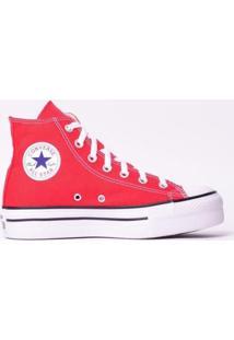 Tênis Converse Chuck Taylor All Star Platform - Feminino-Vermelho