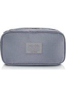Bolsa Jacki Design Porta Lingerie - Unissex-Cinza