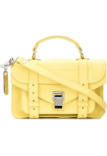 Proenza Schouler Bolsa Transversal Ps1 Pequena - Amarelo