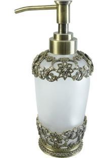 Porta Sabonete LãQuido Com Prata E Cristal 3 - Incolor - Dafiti