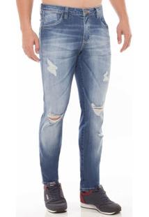 Calça Jeans Skinny Osmoze Azul 48 - Masculino