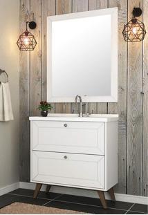 Conjunto Para Banheiro Provenca Branco Bosi
