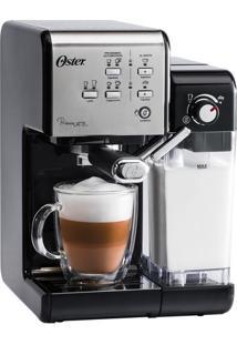 Cafeteira Expresso Oster Primalatte Ii 1170W 3 Tipos De Café Com Bomba 19 Bars De Pressão Preto – 220V