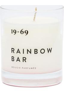 19-69 Rainbow Bar Candle - Branco