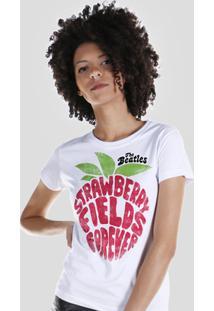 Camiseta Bandup! The Beatles Strawberry Fields Forever - Feminino