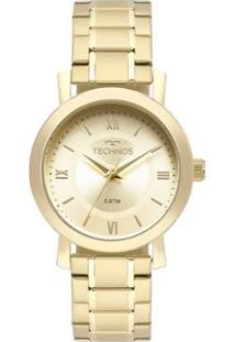Relógio Technos Feminino Boutique - 2035Mms/4X 2035Mms/4X - Feminino-Dourado