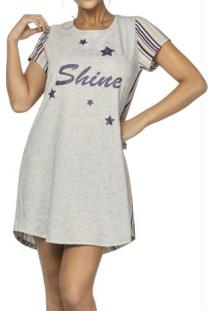 Camisola Stripes And Stars Cinza