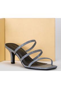 Sandália 3 Tiras Slingback