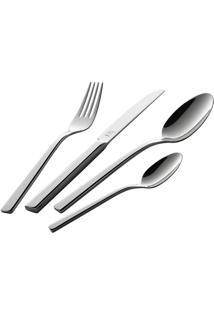 Faqueiro Dinner King 100 Peças Aço Inox 18/10 Serve 18 Pessoas Zwilling J.A. Henckels