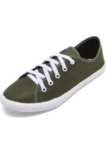 63b1889750a Dafiti. Calçado Tênis Feminino Fiveblu Verde Pesponto