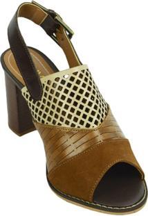 Sandália Boot Vazada Lelive - Feminino