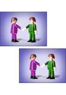 Jogo Americano Colours Creative Photo Decor - Playmobil - 2 Peças