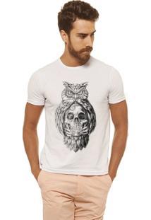 Camiseta Joss - Caveira Coruja - Masculina - Masculino