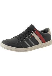 Sapatênis Cr Shoes Leve E Baixo Lançamento Preto