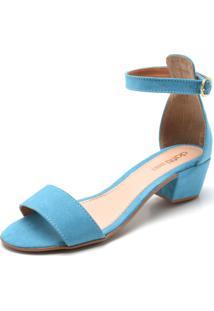 Sandália Dafiti Shoes Lisa Azul