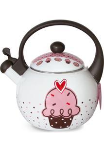 Chaleira Multi Fogão Cupcake - Decor E Casa