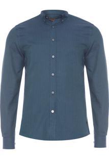 Camisa Masculina Oxford - Verde