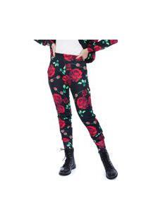 Calça Jogger Jogabe Estampada Floral