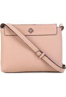 Bolsa Capodarte Shoulder Bag Monocolore Feminina - Feminino-Nude