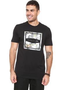 Camiseta Rusty Aloha Preta