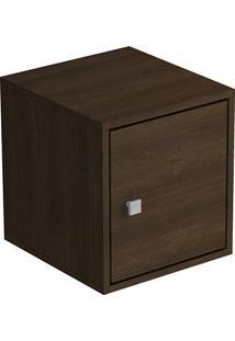 Cubo Porta 1 Porta Bcb 02-49 Tabaco Brv Móveis