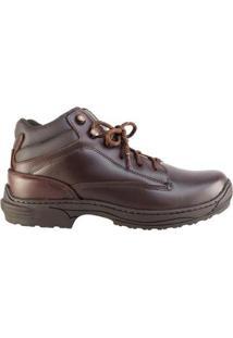 Coturno Country Hb - Agabê Boots - Solado De Borracha Masculino - Masculino-Café