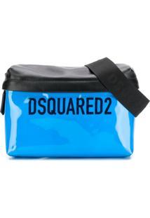 Dsquared2 Pochete Com Logo - Azul