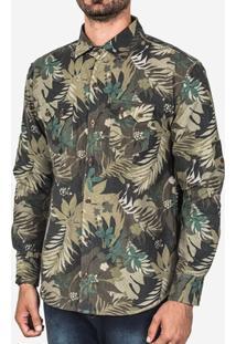 Camisa Hermoso Compadre Flanela Tropical Masculina - Masculino