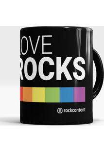 Caneca Love Rocks