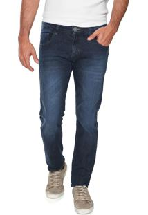 Calça Jeans Yachtsman Slim Básica Azul
