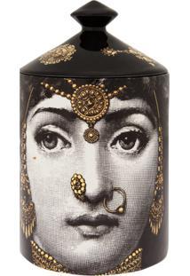 Fornasetti Vela Perfumada 'L'Eclaireuse' - Preto