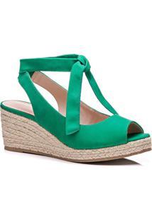 Anabela Feminino Milano Green 10474